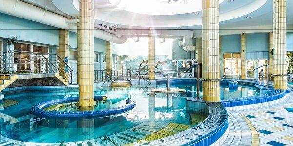 Celodenný vstup do bazénov s procedúrou