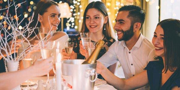 Silvester v Gourmet klube hotela Agátka
