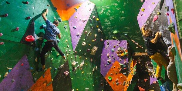 Vstupy na boulderingovú stenu s možnosťou inštruktáže