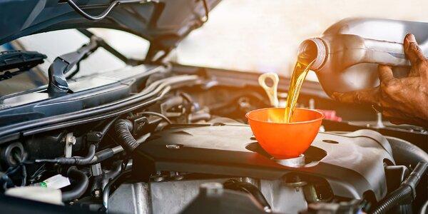 Kontrola vozidla a výmena motorového oleja