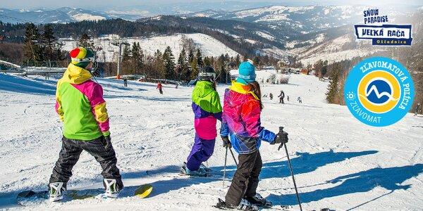Celosezónny skipas aj so servisom lyží a bobovaním alebo jazda ratrakom
