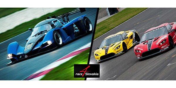 Racingový tréning alebo Race Taxi na okruhu Slovakia Ring