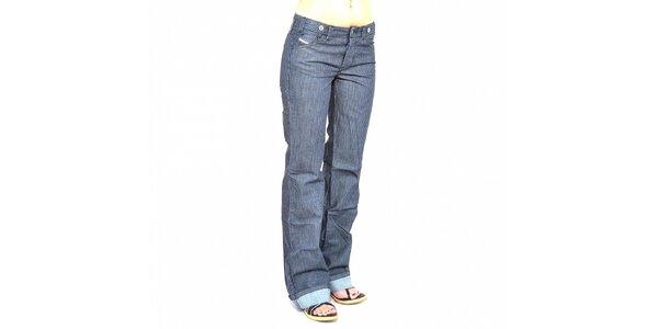Dámske prúžkované džínsy Diesel