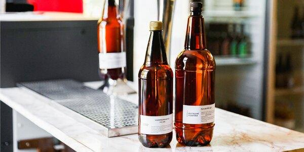 Chutné čapované pivo z jedinečnej Bystrickej pivotéky