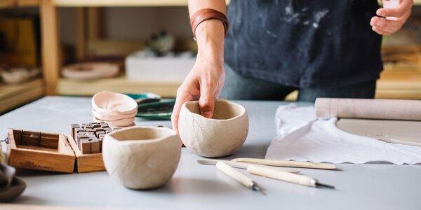 Užite si relax a tvorbu z keramickej hliny