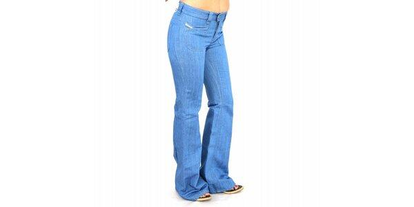 Dámske svetlo modré džínsy Diesel