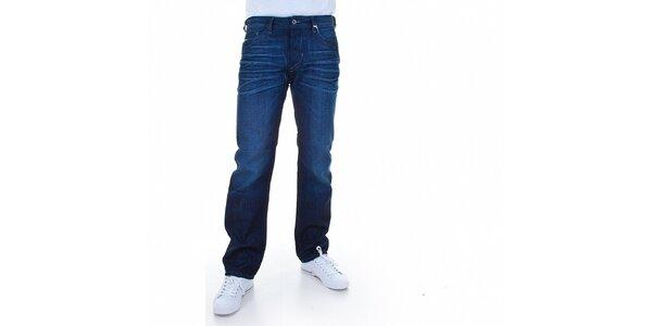 Pánske tmavo modré džínsy Diesel