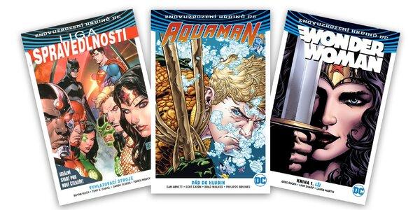 Poriadna dávka komiksovej akcie z dielne DC!