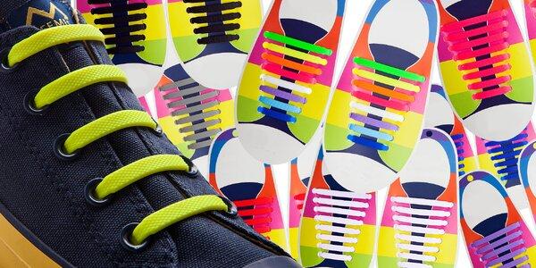 a61cfba8e5 Ozdobte svoje topánky silikónovými šnúrkami