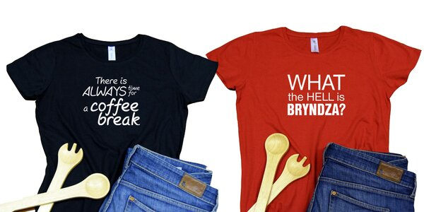 Dámske a pánske tričká s veselou potlačou