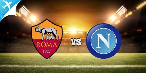 Letecký zájazd na futbalový zápas: AS Rím - SSC Neapol