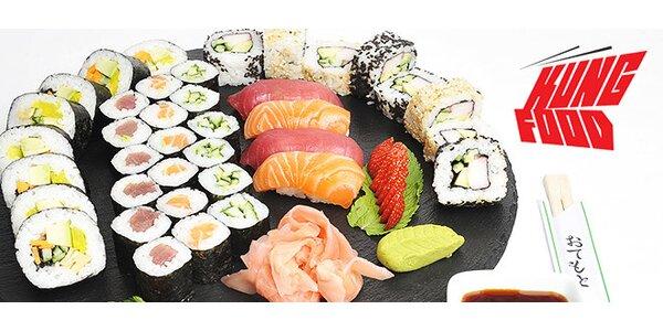 Sushi 38 kúskov s rozvozom až k vám domov