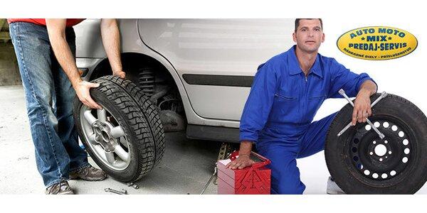 Prezutie letných pneumatík za zimné