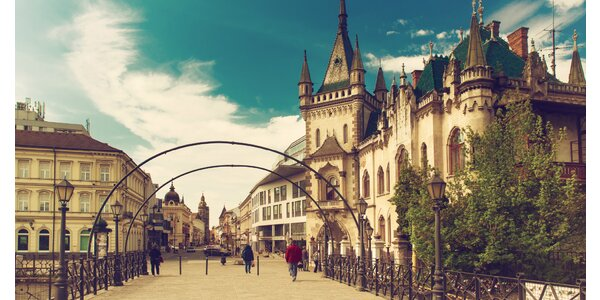 Apartmán The heart of Kosice: krásy mesta vzdialené na pár krokov