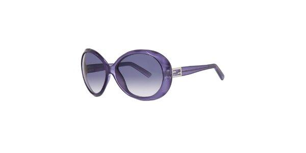 Dámske fialové slnečné okuliare Fendi