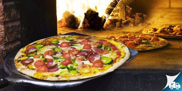 Pizza podľa výberu v Reštaurácii Fantozzi aj na rozvoz