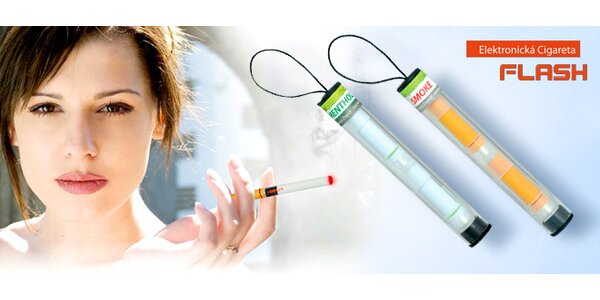 Elektronická cigareta bez nikotínu