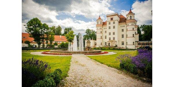Božský wellness pobyt na zámku Wojanów na poľskej strane Krkonôš