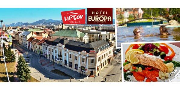 Pobyt na Liptove v Hoteli EUROPA***