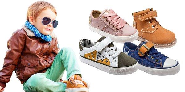 80ad88548c Pekné a pohodlné detské topánočky na jar