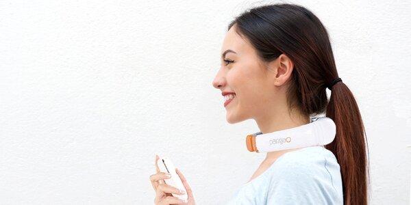 Pangao masážny prístroj na krk s diaľkovým ovládačom