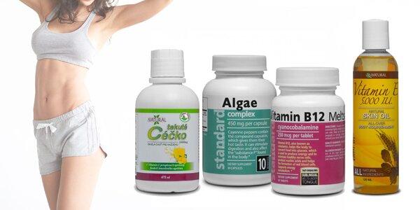 Vitamíny a výživové doplnky pre vaše zdravie