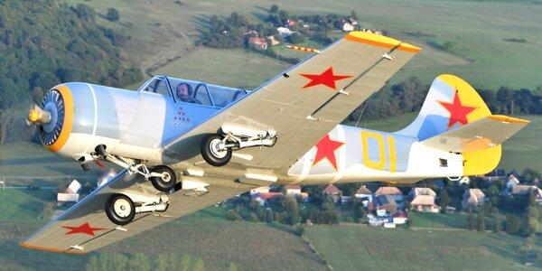 Úchvatný akrobatický let na lietadle YAK 52