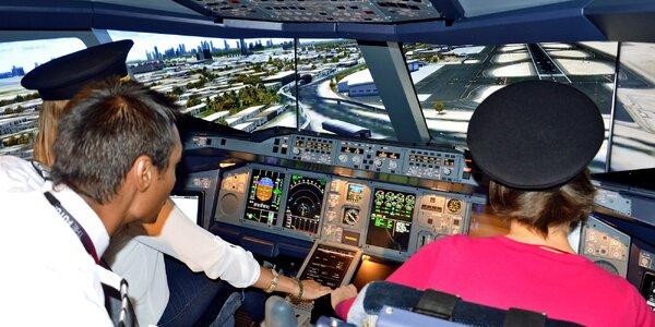 Simulátor najväčšieho dopravného lietadla