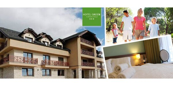Pobyt v hoteli Green***na Orave