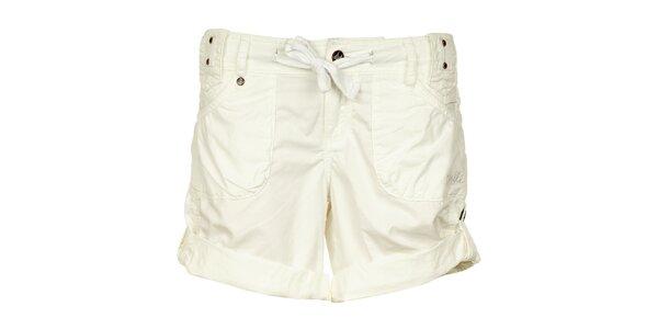 Dámske biele bavlnené šortky O´Neill