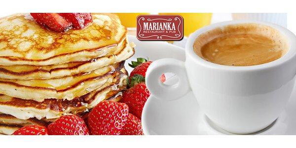 Presso a palacinky v reštaurácii Marianka