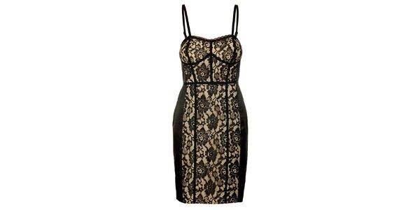 Dámske čipkované šaty Guess