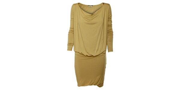 Dámske béžové šaty Guess