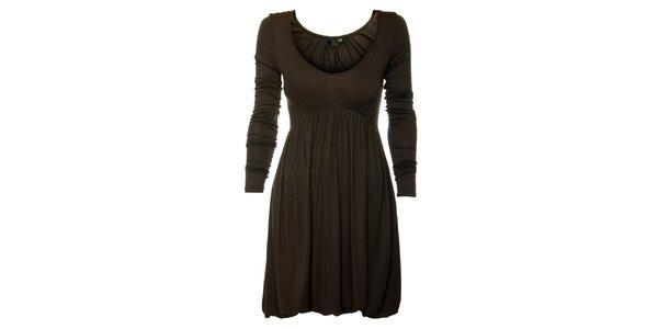 Dámske tmavo šedé šaty Guess