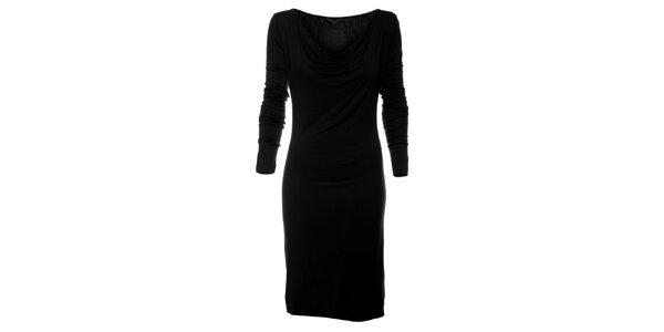 Dámske čierne šaty Guess