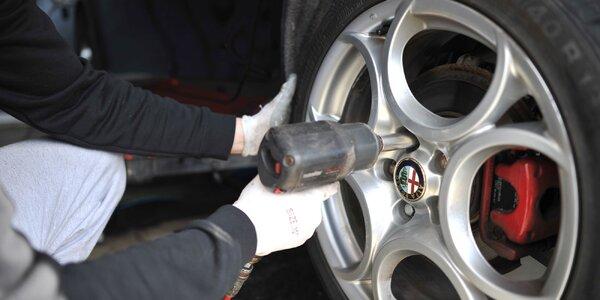 Prezutie pneumatík či kontrola vozidla