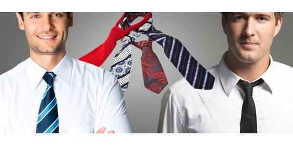 6,50 eur za pánsku kravatu