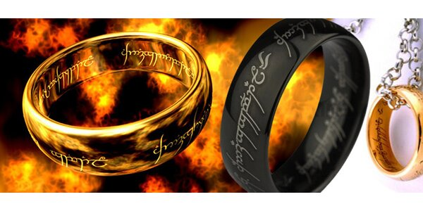 Prsteň z filmu Pán prsteňov