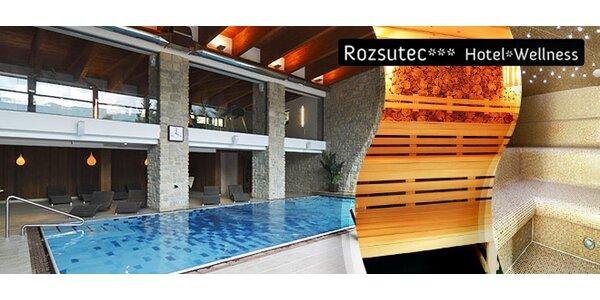 1-2 hod. vo wellness centre Hotela Rozsutec