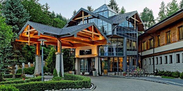 Dokonalý relax v hoteli Czarny Potok Resort Spa & Conference****