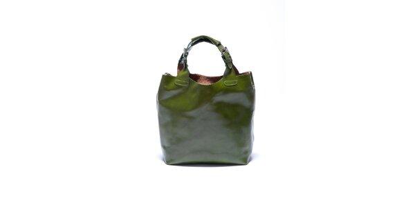 Dámska zelená kabelka Roberta Minelli