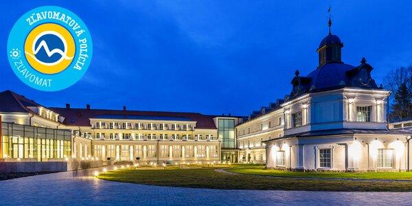 Kráľovský wellness pobyt v luxusnom 5* ROYAL PALACE s Aquaparkom