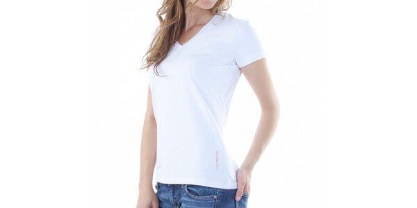 Dámske biele tričko Calvin Klein
