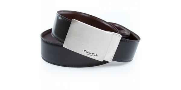 Pánsky obojstranný kožený opasok Calvin Klein