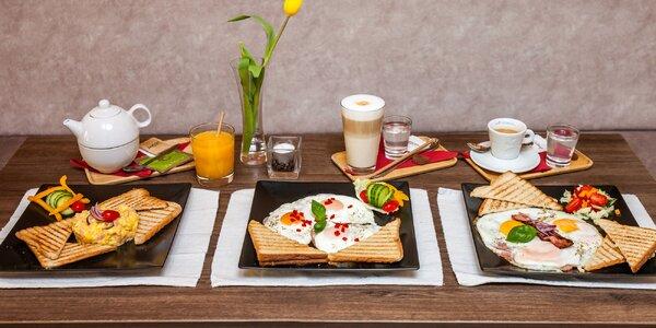 Fantastické raňajky aj s nápojom v Impresso café