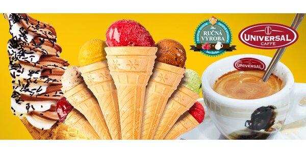 Zmrzlina a káva