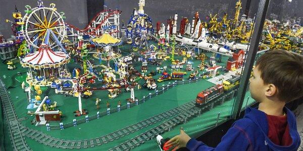 Vstupenka na LEGO výstavu WORLD OF BRICKS