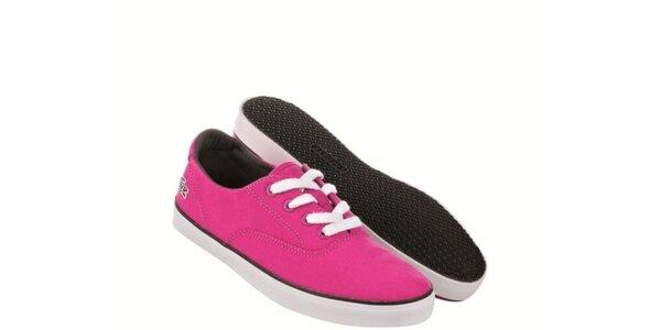 Dámske ružové tenisky Lacoste