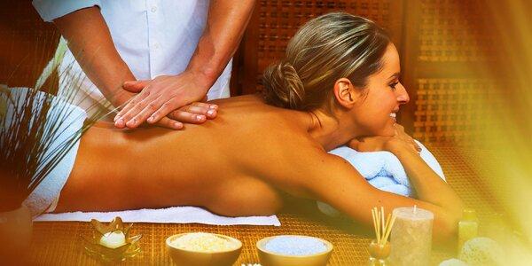Thajská olejová masáž celého tela
