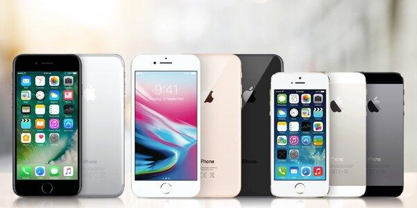 Zánovné Apple iPhone SE, 6, 6S, 7